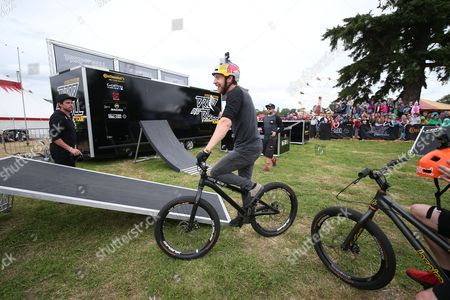 Stock Picture of Danny MacAskill