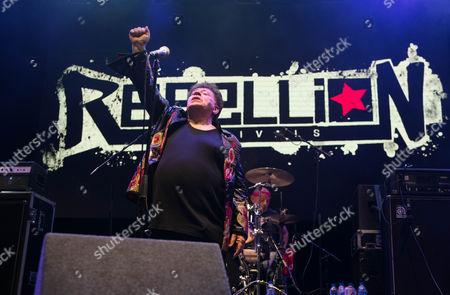 Editorial photo of Rebellion Festival, Blackpool, UK - 06 Aug 2016