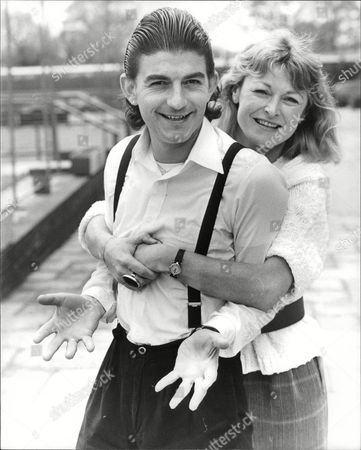 Sue Cook Presenter Of Tv Programme 'crimewatch' With Actor John Altman Who Plays 'bad Boy' Nick Cotton In Tv Soap 'eastenders'. Box 683 704051621 A.jpg.