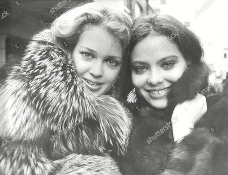 Actresses Melody Anderson (left) And Ornella Muti. Box 686 1019051616 A.jpg.