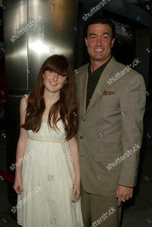 Daniel McVicar and daughter Margaret
