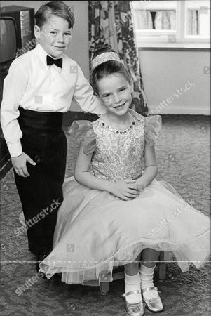 Stock Picture of Alison Andrews 9 And Her 7-year-old Brother Neil Who Have Won Bronze Silver And Gold Medals For Ballroom Dancing. They Are From Camberley. Box 687 425051631 A.jpg.