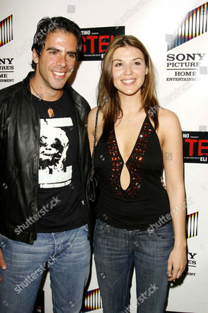 Eli Roth and Barbara Nedeljakova
