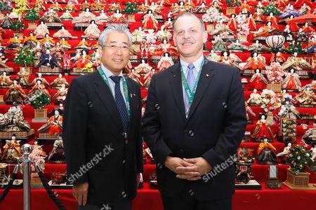 Tsunekazu Takeda, Prince Faisal bin Hussein