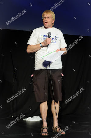 Editorial photo of Dr Phil Hammond's NHS Revolution, Edinburgh Festival Fringe, Scotland - 06 Aug 2016