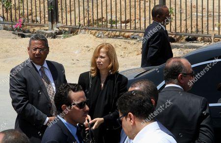 Dema Faham, the widow of Ahmed Zewail