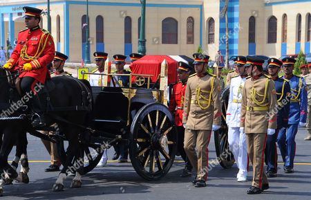 Military funeral ceremony