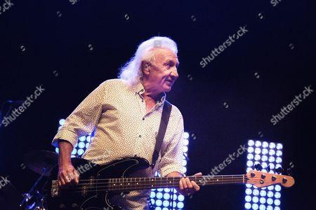 Stock Photo of Smokie, Terry Uttley, bass