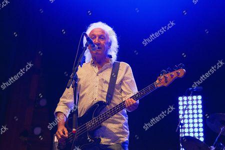 Stock Image of Smokie, Terry Uttley, bass