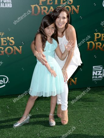 Editorial picture of 'Pete's Dragon' film premiere, Arrivals, Los Angeles, USA - 08 Aug 2016