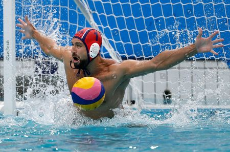 Editorial picture of Rio 2016 Olympic Games, Water Polo, Brazil - 08 Aug 2016