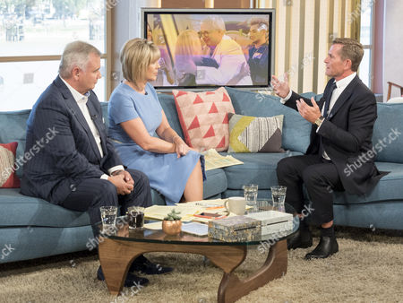 Eamonn Holmes and Ruth Langsford with Grant Bovey