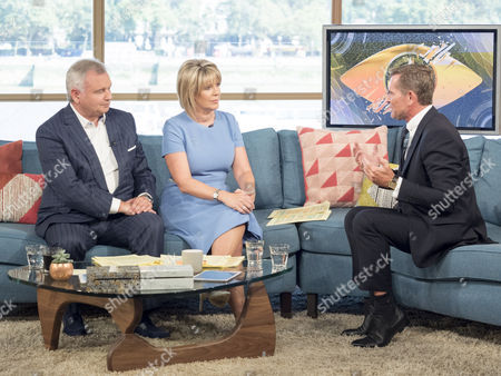 Stock Picture of Eamonn Holmes and Ruth Langsford with Grant Bovey