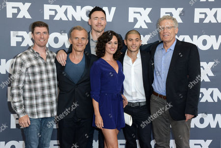 Chuck Hogan, Richard Sammel, Kevin Durand, Natalie Brown, Miguel Gomez and Carlton Cuse