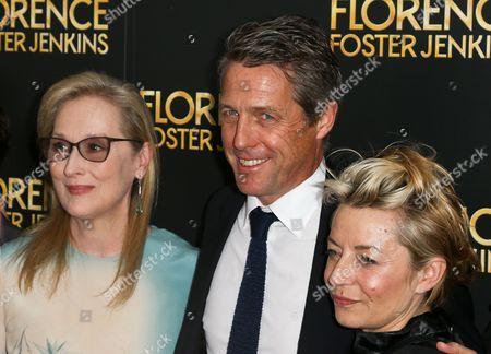 Meryl Streep, Hugh Grant, Tracey Seaward