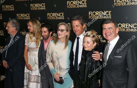 Stephen Frears, Nina Arianda, Simon Helberg, Meryl Streep, Hugh Grant, Tracey Seaward, Nicholas Martin