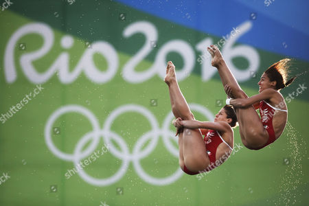 Editorial image of Rio 2016 Olympic Games, Diving, Maria Lenk Aquatics Centre, Brazil - 09 Aug 2016