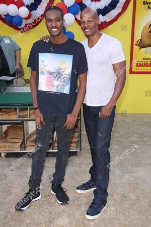 Keenan Ivory Wayans and son Keenan Jr
