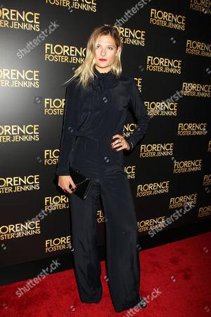 Editorial photo of Paramount Pictures Presents the New York Premiere of 'FLORENCE FOSTER JENKINS', USA - 09 Aug 2016