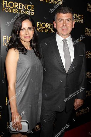 Nicholas Martin (Writer) with wife