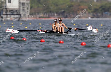 Editorial picture of Rio 2016 Olympic Games, Rowing, Lagoa Stadium, Brazil - 09 Aug 2016