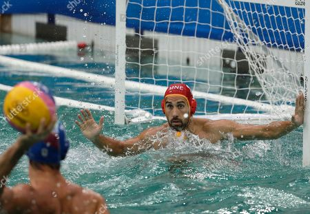 Editorial photo of Rio 2016 Olympic Games, Water Polo, Brazil - 10 Aug 2016