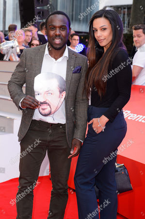 Stock Photo of Mohammed George and Guest