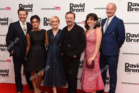 Editorial image of 'David Brent: Life on the Road' film premiere, London, Britain - 10 Aug 2016