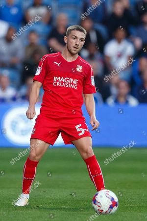 Anton Rodgers of Swindon Town during the EFL Cup First Round match between QPR and Swindon played at Loftus Road Stadium, London on 10th August 2016