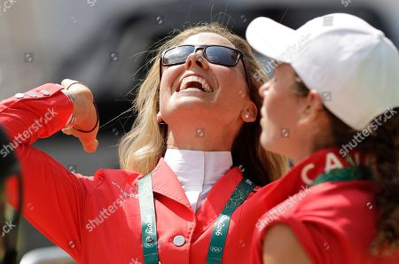 Rebecca Howard Rebecca Howard, of Canada, reacts after competing in equestrian jumping at the 2016 Summer Olympics in Rio de Janeiro, Brazil