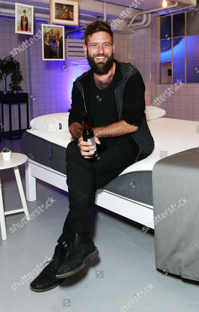 Stock Photo of Chaz Hutton, celebrated the UK launch of Cult US Sleep Innovators, Casper at The Vinyl Factory in Soho this evening.