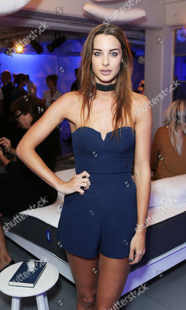 Emily Hartridge celebrated the UK launch of Cult US Sleep Innovators, Casper at The Vinyl Factory in Soho this evening.