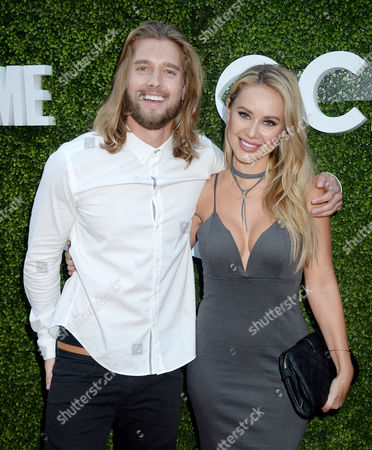 Stock Picture of Drew Van Acker and guest