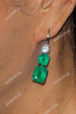 Eva Chun earring detail