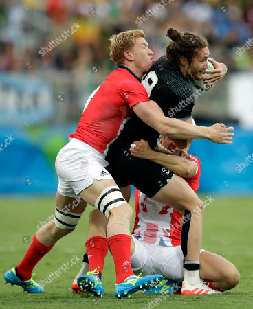 Editorial picture of Rio 2016 Olympic Games, Rugby Sevens, Deodoro Stadium, Brazil - 10 Aug 2016