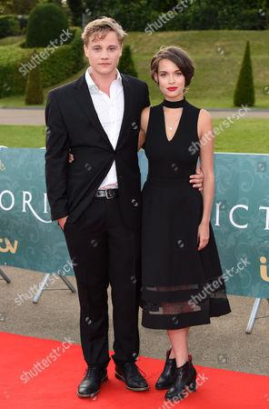 Editorial picture of 'Victoria' TV show premiere, Kensington Palace, London, Britain - 11 Aug 2016