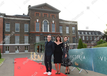 Editorial photo of 'Victoria' TV show premiere, Kensington Palace, London, Britain - 11 Aug 2016