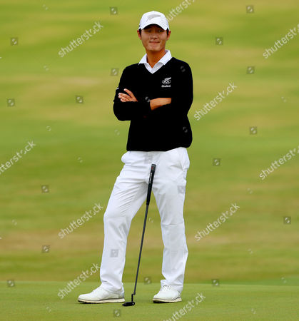 Golf. New Zealand's Danny Green at the 6th green