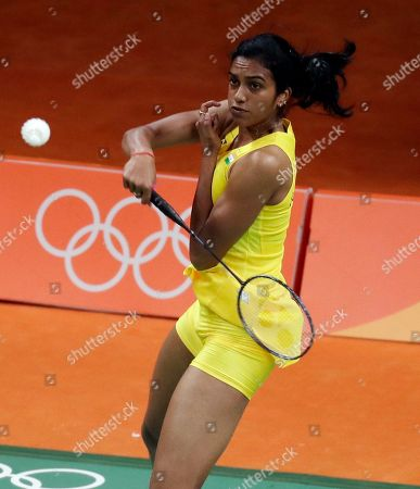 Editorial picture of Rio 2016 Olympic Games, Badminton, Riocentro, Brazil - 11 Aug 2016