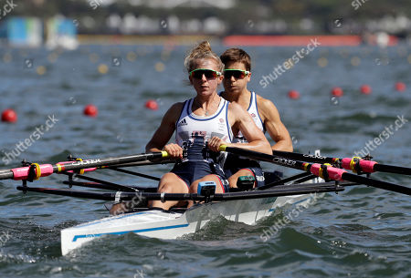 Editorial image of Rio 2016 Olympic Games, Rowing, Lagoa Stadium, Brazil - 11 Aug 2016