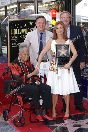 Editorial picture of Roma Downey honored with a star on the Hollywood Walk of Fame, Los Angeles, USA - 11 Aug 2016