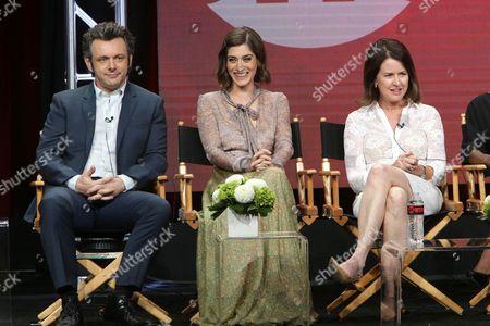 Michael Sheen, Lizzy Caplan, Michelle Ashford