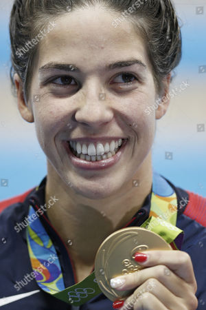 Editorial image of Rio 2016 Olympic Games, Swimming, Olympic Aquatics Stadium, Brazil - 12Aug 2016