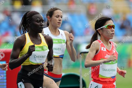 Jo Pavey of Team GB in action in the Women's 10,000m during day seven of the Rio Olympics 2016 on the 12th August 2016