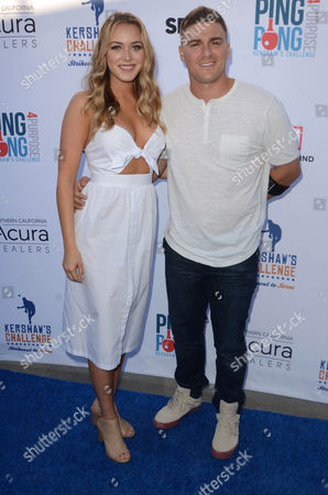 Editorial picture of Clayton Kershaw's 4th Annual Ping Pong 4 Purpose Charity Event, Los Angeles, USA - 11 Aug 2016