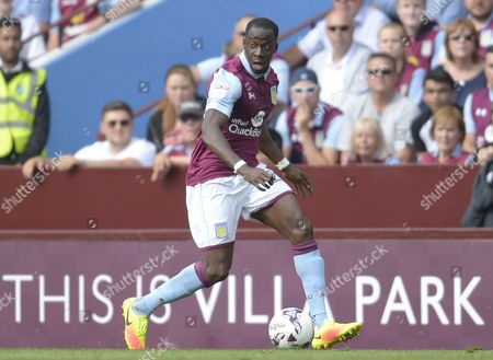 Aly Cissokho of Aston Villa during the Sky Bet Championship match between Aston Villa and Rotherham United played at Villa Park, Birmingham on 13th August 2016