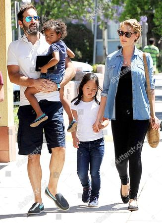 Editorial image of Katherine Heigl and Josh Kelley out and about, Los Angeles, USA - 13 Aug 2016