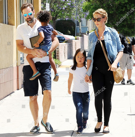 Editorial photo of Katherine Heigl and Josh Kelley out and about, Los Angeles, USA - 13 Aug 2016
