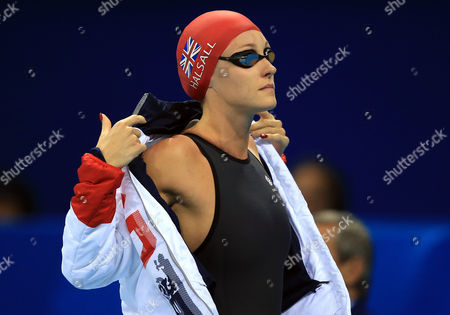 Stock Picture of Fran Halsall of Great Britain competes in the Women's 50m Freestyle Final on Day 8 of the Rio 2016 Olympic Games at the Olympic Aquatics Stadium on August 13, 2016 in Rio de Janerio, Brazil.  (Photo by Vaughn Ridley/SWpix.com)