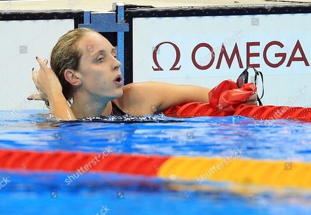 Editorial picture of Swimming - Olympics: Day 8. Rio de Janerio, Brazil - 13 Aug 2016